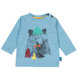 Deux Par Deux Whistle Punk Preppy Bear Tee