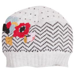 Catimini Graphic Floral Ma De Moizele Hat