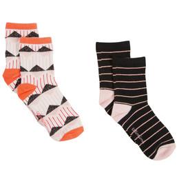 Catimini Ethno City Conte D'Hiver Socks - 2 pairs