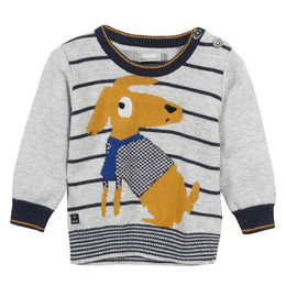 Catimini Graphic City Je Fais Mon Cinema Dog Sweater
