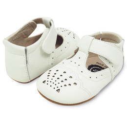 Livie & Luca Cora Baby Shoes - Milk (Fall 2017)