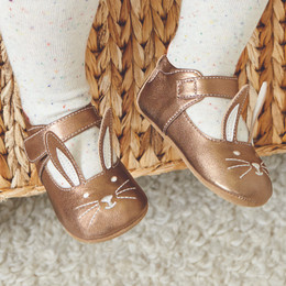Livie & Luca Molly Baby Shoes - Copper Metallic (Fall 2017)