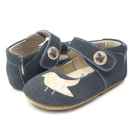 Livie & Luca Pio Pio Baby Shoes - Gray (Fall 2017)