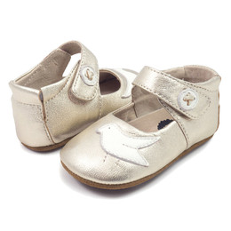 Livie & Luca Pio Pio Baby Shoes - Silver Metallic (Fall 2017)