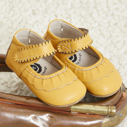 Livie & Luca Ruche Baby Shoes - Butterscotch (Fall 2017)