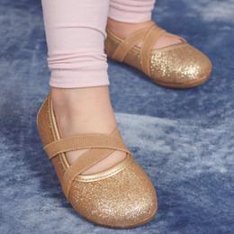Livie & Luca Aurora Shoes - Gold Sparkle (Fall 2017)