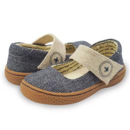 Livie & Luca Carta II Shoes - Navy Tweed (Fall 2017)
