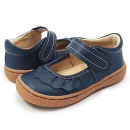 Livie & Luca Ruche Shoes - Navy Blue (Fall 2017)