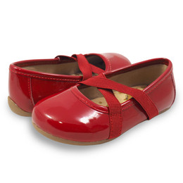 Livie & Luca Aurora Shoes - Ruby Patent (Fall 2017)