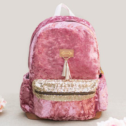 Joyfolie Leogha Velvet Backpack