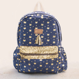 Joyfolie Catie Navy Backpack
