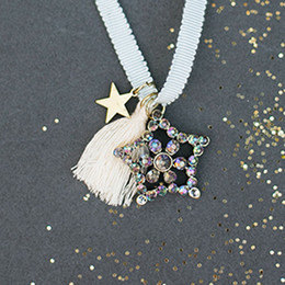 Joyfolie Star Tassel Necklace