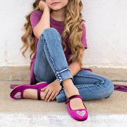 Joyfolie Liv Velvet Mary Jane Shoes - Berry Heart