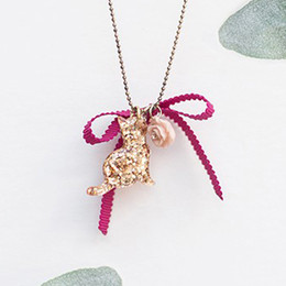 Joyfolie Sparkle Kitty Necklace