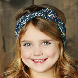 Mustard Pie Woodland Magic Gidget Headband - Navy