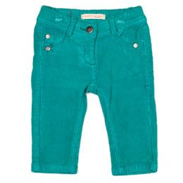 Deux Par Deux Paint Up Your Life Cord Pants - Dynasty Green