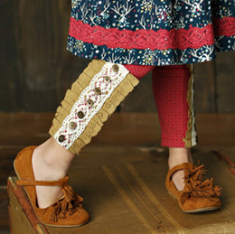 Mustard Pie Woodland Magic Sargent Legging - Brick