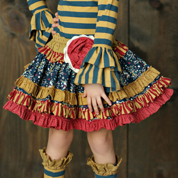Mustard Pie Woodland Magic Kenzington Skirt