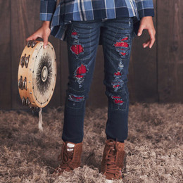 Jak & Peppar Wild Hearts Peppar Pep School Skinnies - Dark Wash