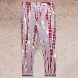 Jak & Peppar Wild Hearts Dazed and Confused Leggings - Burgundy Dazed