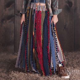 Jak & Peppar Wild Hearts Seaside Maxi Skirt
