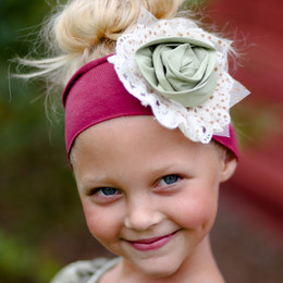 Giggle Moon Precious Ruby Knit Headband - Solid
