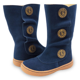 Livie & Luca Tiempo Boots - Navy Blue (Fall 2017)