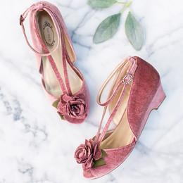 Joyfolie Holiday Arabella Shoe - Rose