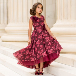 Joyfolie Holiday Juliette Dress - Berry
