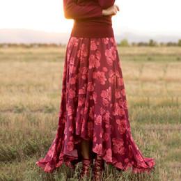 Joyfolie Holiday Women's Julianna Skirt - Berry