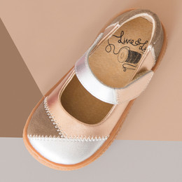 Livie & Luca Sweet Remnants Limited Edition Shoe - Taupe