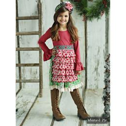 Mustard Pie Mystic Evergreen Mabel Apron Dress