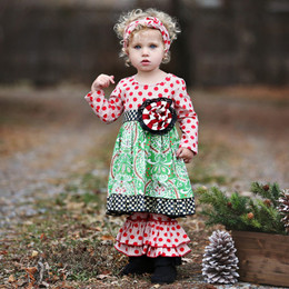 Mustard Pie Mystic Evergreen Emma 2pc Dress Set (*Now up to 4T!*)
