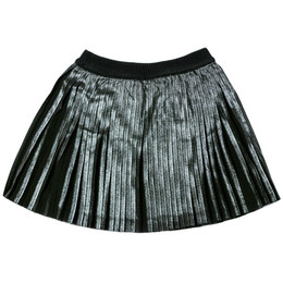 Mayoral Metallic Pleated Skirt - Negro