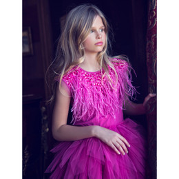 Tutu Du Monde Jewels Of The Palisades Victoria Dream Tutu Dress - Dahlia