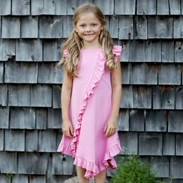 Lemon Loves Lime Woodland Play Frilly Dress - Begonia Pink