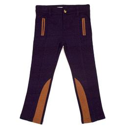 Deux Par Deux The Golden Dot Pants - Peacoat