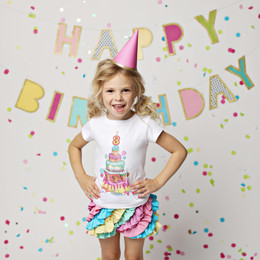 Lemon Loves Lime Birthday Tee - 3rd Birthday