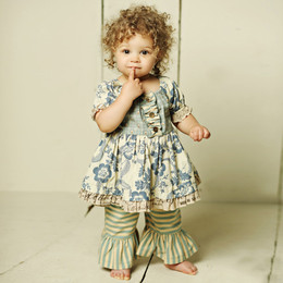Mustard Pie Amber Fields Baby Lola 2pc Set (**Now up to size 6X**)