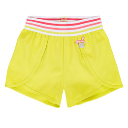Deux Par Deux Flamingo Edit Short - Limeade