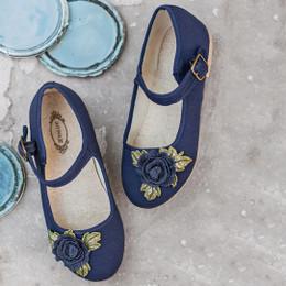 Joyfolie Lola Mary Jane Shoes - Navy
