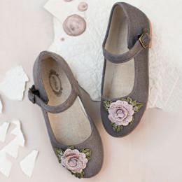 Joyfolie Lola Mary Jane Shoes - Charcoal