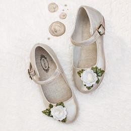 Joyfolie Lola Mary Jane Shoes - Gold