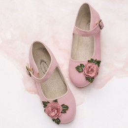 Joyfolie Lola Mary Jane Shoes - Rose