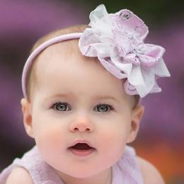 Isobella & Chloe Lavender Bouquet Hard Headband - Lilac