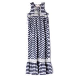 Isobella & Chloe Jey Maxi Dress - Slate Blue