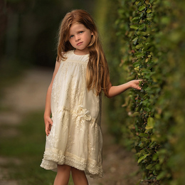 Isobella & Chloe Creamy Bliss Dress - Ivory
