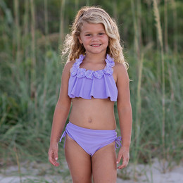 Isobella & Chloe Queenie 2pc Swimsuit - Lilac