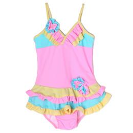 Isobella & Chloe Bridget 1pc Swimsuit - Light Pink