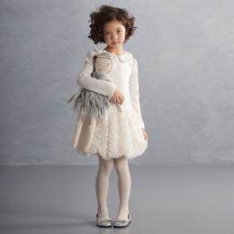 Biscotti Snow Kisses L/S Dress - Ivory